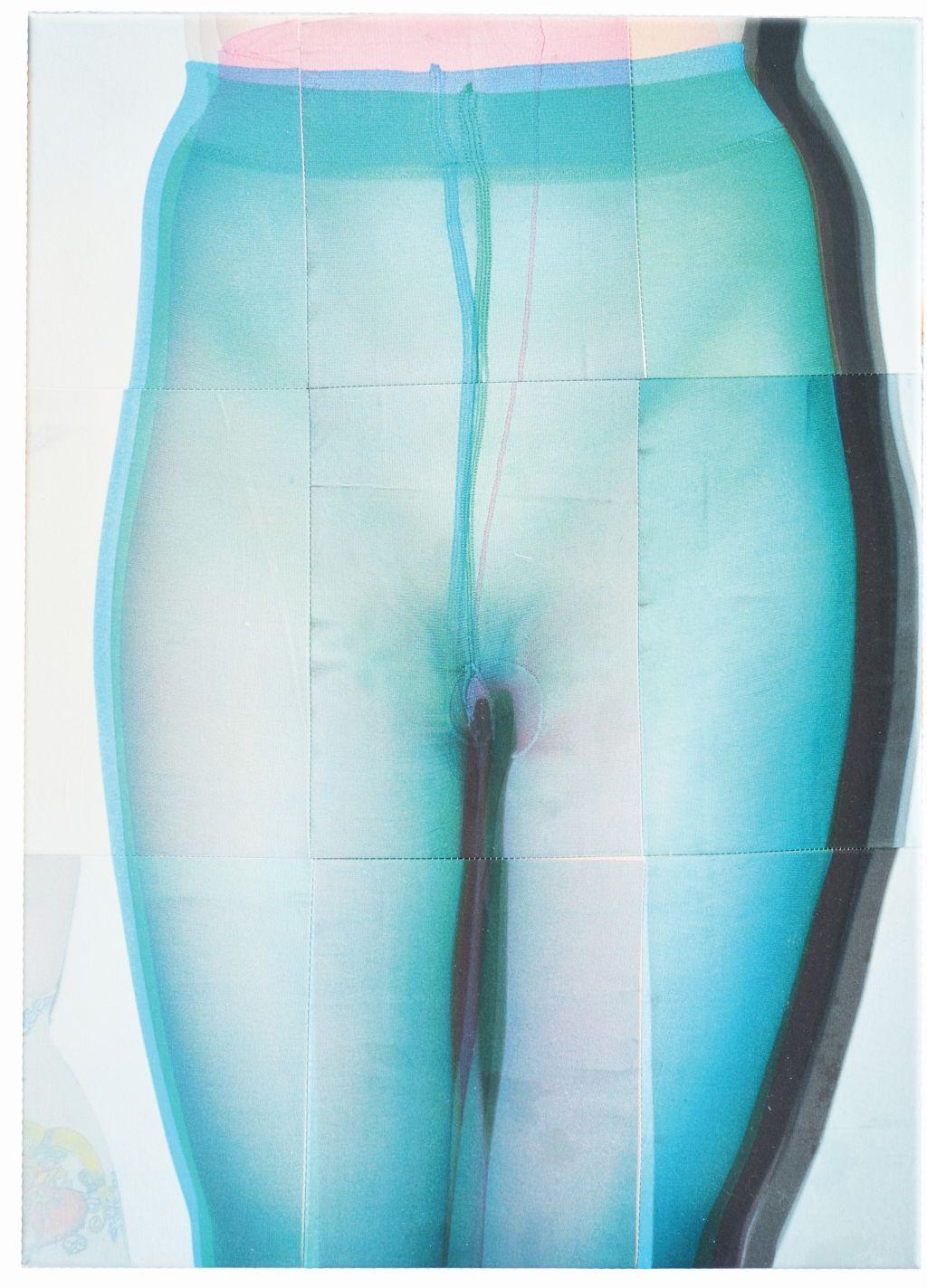 AfterBefore, druk na bawełnie, 50 x 70 cm, 2015